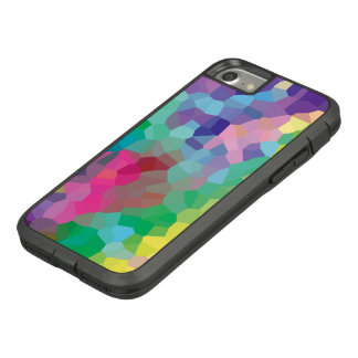 Funda Tough Extreme De Case-Mate Para iPhone 8/7 Modelo geométrico de los cristales abstractos