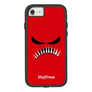 Funda Tough Extreme De Case-Mate Para iPhone 8/7 Monstruo enojado con los males de ojo y los