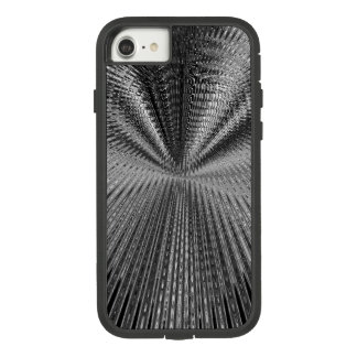 Funda Tough Extreme De Case-Mate Para iPhone 8/7 Negro y blanco de la reacción del infinito