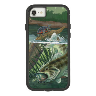 Funda Tough Extreme De Case-Mate Para iPhone 8/7 Pesca de perca americana