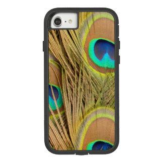 Funda Tough Extreme De Case-Mate Para iPhone 8/7 Plumas del pavo real