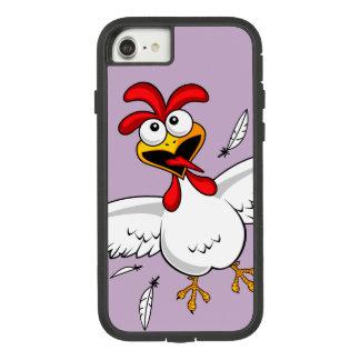 Funda Tough Extreme De Case-Mate Para iPhone 8/7 Pollo chistoso lindo divertido fresco del dibujo