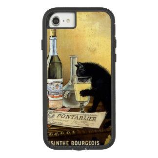 """Funda Tough Extreme De Case-Mate Para iPhone 8/7 Poster francés retro """"burgués del ajenjo """""""