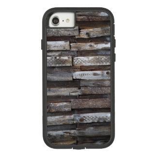 Funda Tough Extreme De Case-Mate Para iPhone 8/7 Tablones de madera del Grunge