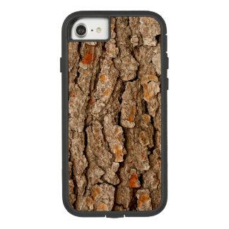 Funda Tough Extreme De Case-Mate Para iPhone 8/7 Textura de la corteza de árbol de pino
