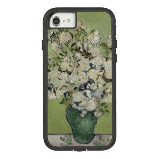 Funda Tough Extreme De Case-Mate Para iPhone 8/7 Vintage GalleryHD floral de los rosas de Vincent