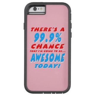 Funda Tough Xtreme iPhone 6 99,9% El IR A SER IMPRESIONANTE (blanco)