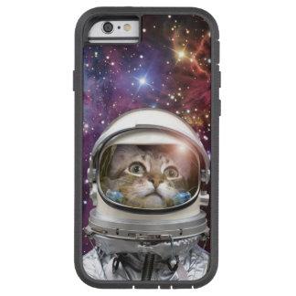 Funda Tough Xtreme iPhone 6 Astronauta del gato - gato loco - gato