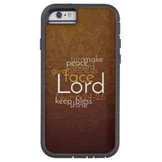 Funda Tough Xtreme iPhone 6 Bendición sacerdotal en el damasco de cobre de