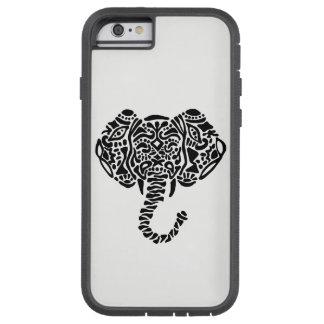 Funda Tough Xtreme iPhone 6 Caso abstracto del iPhone 6 del elefante