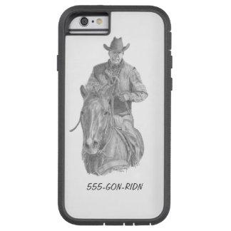 Funda Tough Xtreme iPhone 6 Cubierta del teléfono del vaquero GON-RIDN