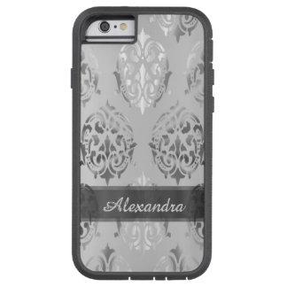 Funda Tough Xtreme iPhone 6 Damasco elegante elegante personalizado de los