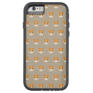 Funda Tough Xtreme iPhone 6 Ejemplo lindo del gato de Tabby