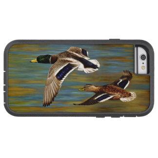 Funda Tough Xtreme iPhone 6 El pato silvestre Ducks volar sobre la charca