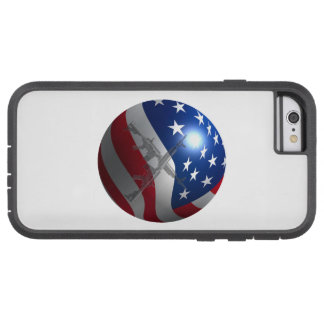 Funda Tough Xtreme iPhone 6 esfera de la bandera 3D