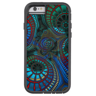 Funda Tough Xtreme iPhone 6 Extracto del fractal que agita
