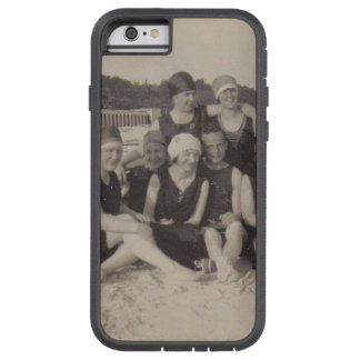 Funda Tough Xtreme iPhone 6 Fotografía 1920 del vintage del grupo de playa