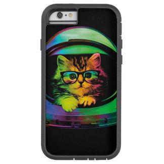 Funda Tough Xtreme iPhone 6 Gato del inconformista - astronauta del gato -