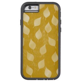 Funda Tough Xtreme iPhone 6 Hojas del oro que brillan intensamente