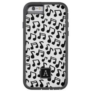 Funda Tough Xtreme iPhone 6 La música de muy buen gusto del Doodle observa el