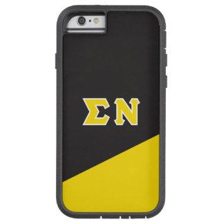 Funda Tough Xtreme iPhone 6 Letras del Griego de NU el | de la sigma