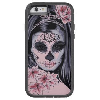 Funda Tough Xtreme iPhone 6 Máscara del esqueleto de la mujer