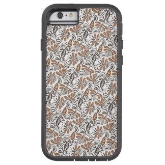 Funda Tough Xtreme iPhone 6 Modelo auténtico del blanco de Walang del batik