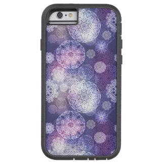Funda Tough Xtreme iPhone 6 Modelo de lujo floral de la mandala