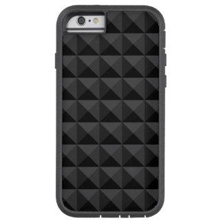 Funda Tough Xtreme iPhone 6 Modelo geométrico moderno de la casilla negra
