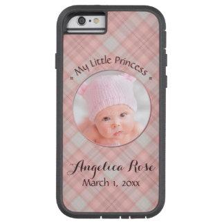 Funda Tough Xtreme iPhone 6 Nueva niña mi pequeña princesa Pink Plaid