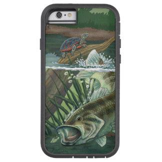 Funda Tough Xtreme iPhone 6 Pesca de perca americana