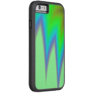 Funda Tough Xtreme iPhone 6 Pico azul verde claro