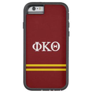 Funda Tough Xtreme iPhone 6 Raya del deporte de la theta el   de Kappa de la