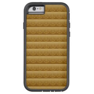 Funda Tough Xtreme iPhone 6 Signo de la paz Smartphone de Paxspiration/caja de