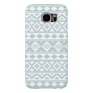 Funda Tough Xtreme Para iPhone 6 Azul azteca y blanco del huevo del pato de Ptn