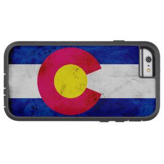 Funda Tough Xtreme Para iPhone 6 Bandera patriótica del estado de Colorado del
