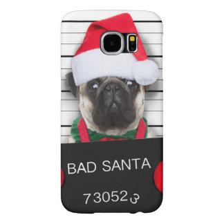 Funda Tough Xtreme Para iPhone 6 Barro amasado del navidad - perro del mugshot -