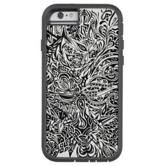 Funda Tough Xtreme Para iPhone 6 Caso abstracto del iPhone 6