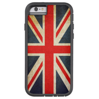 Funda Tough Xtreme Para iPhone 6 Caso británico del iPhone 6 de la bandera de Union