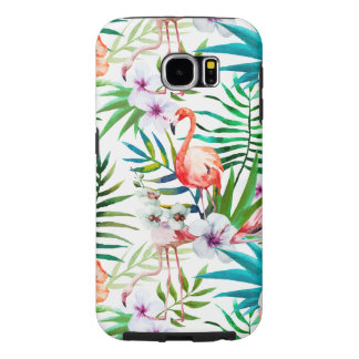 Funda Tough Xtreme Para iPhone 6 Caso duro tropical de Samsung S6
