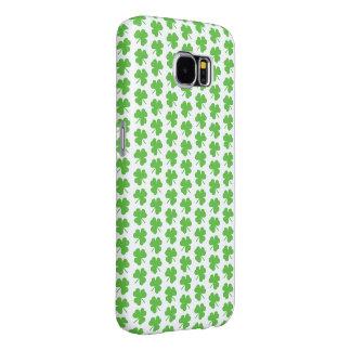 Funda Tough Xtreme Para iPhone 6 Hoja verde del trébol