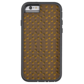 Funda Tough Xtreme Para iPhone 6 iPhone de oro 6/6s, Xtreme duro de Brown de los
