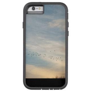Funda Tough Xtreme Para iPhone 6 La puesta del sol se nubla (el caso)