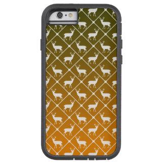 Funda Tough Xtreme Para iPhone 6 Los ciervos modelan en fondo de la pendiente