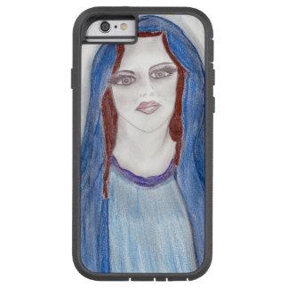 Funda Tough Xtreme Para iPhone 6 Maria en azul
