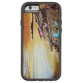 Funda Tough Xtreme Para iPhone 6 Mariposas y globos Xtreme duro Iphone 6/6s