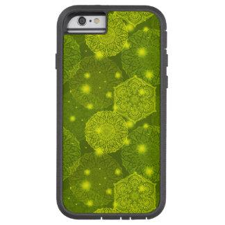 Funda Tough Xtreme Para iPhone 6 Modelo de lujo floral de la mandala