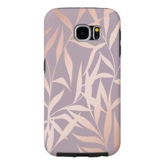 Funda Tough Xtreme Para iPhone 6 oro color de rosa, asiático, hoja, modelo, árboles