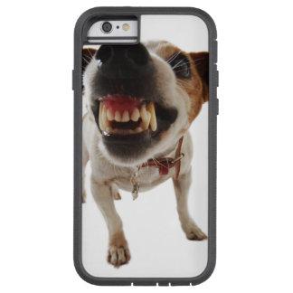 Funda Tough Xtreme Para iPhone 6 Perro agresivo - perro enojado - perro divertido