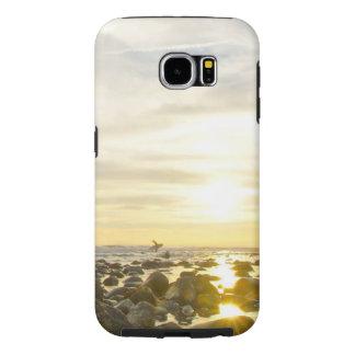 Funda Tough Xtreme Para iPhone 6 Persona que practica surf solitaria